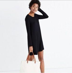 Madewell Long Sleeve Swingy Tee Dress